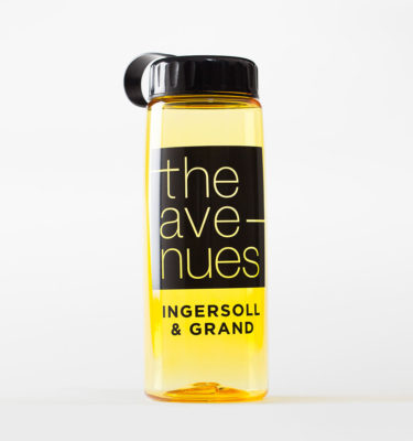 The Avenues bottle in amber